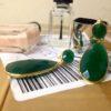 Tear druppels en ovale oorstekers E13121-V