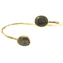 Bracelet With Facet Cut Lapis Lazuli