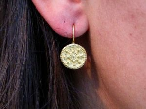 Sas Design Etruscan Inspired Earrings