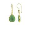 E1199-V oorbellen met jade los aan de haak