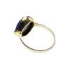 R1134-V zoete romantische klassieke ring lapis lazuli