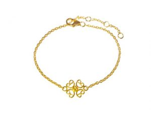 Fine Bracelet With Small Ornament