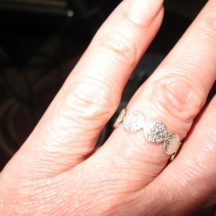 R1454-Z Platte Silver Ring