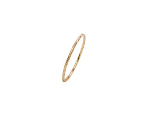 Handgemaakte 18k gouden ring R106-G
