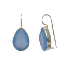 Druppels Blauwe Chalcedoon E7703