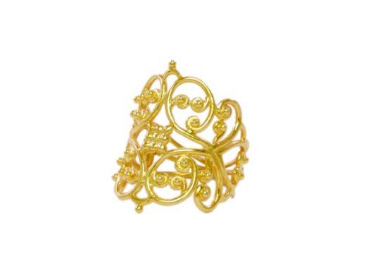 Filigrain ring R1628