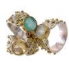 Boho vintage chic ring R7701