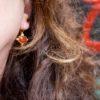 Aziatisch Etruskisch versierd oorhangers - E1432