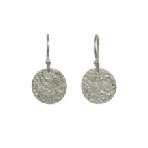 Silver Coin Earrings – E1554