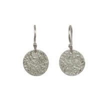 Silver Coin Earrings – E1554