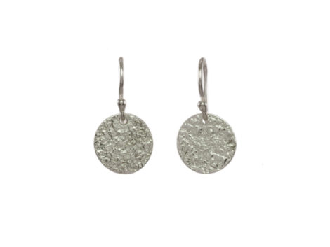 Losse munt zilver oorhangers E1554-Z