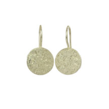 Small Silver Coin Earring – E1417