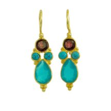 Multi Coloured Small Earring – E1669