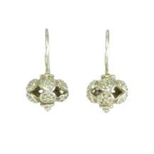 Asian Etruscan Silver Small Earrings – E9531